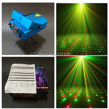 Free Shipping High Quality New Blue Mini LED Laser Projector DJ Disco Bar Stage House Lighting Light Galaxy 50-60Hz