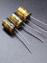 30 ШТ. Nichicon FG 220 мкФ/16 В подлинное место 220 мкФ 16 В аудио, ввозимые для конденсатор бесплатно доставка