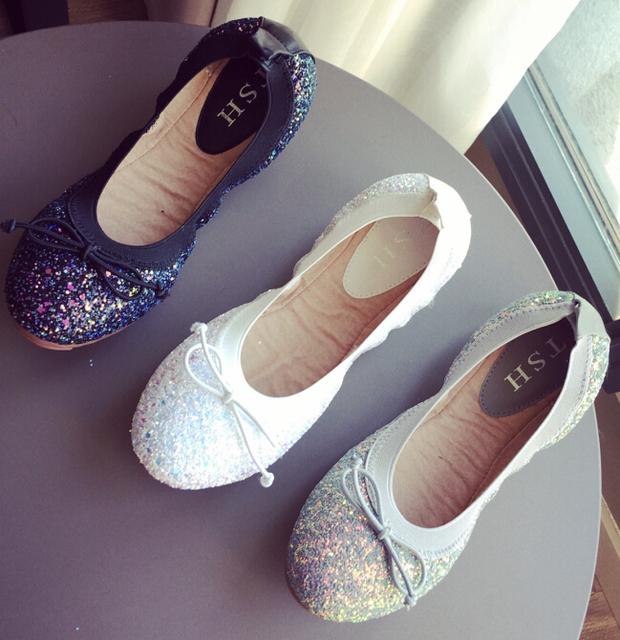 Mujeres de la manera zapatos cómodos zapatos planos de la Nueva llegada pisos-A815-20-zapatos de Los Planos de gran tamaño de Las Mujeres