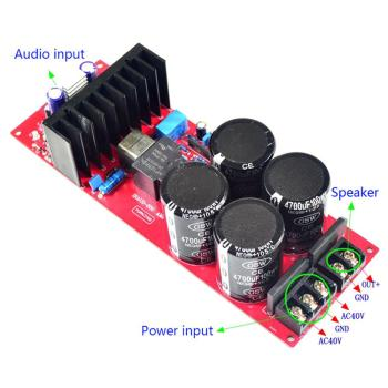 цена на IRS2092 Class D Mono Amplifier Board 700W 4ohms/ 350W 8ohms Dual Rectifier W/protection YJ00156
