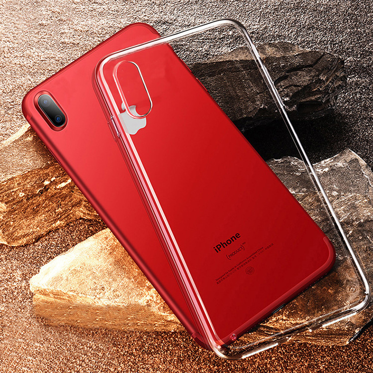 IPhone Xs Max Case Transparent Tpu  Iphone 7 Plus Phone Case Full Package Silicone Pudding Iphone 8 Case