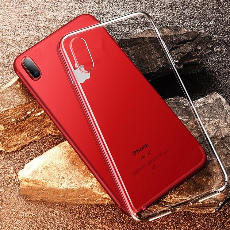IPhone Xs Max Case Transparent Tpu  Iphone 7 Plus Phone Case Full Package Silicone Pudding Iphone 8 Case