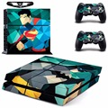 Superman VS Batman Vinyl Cover Decal PS4 Skin Sticker for Sony PlayStation 4 Console & 2 Controller Skins
