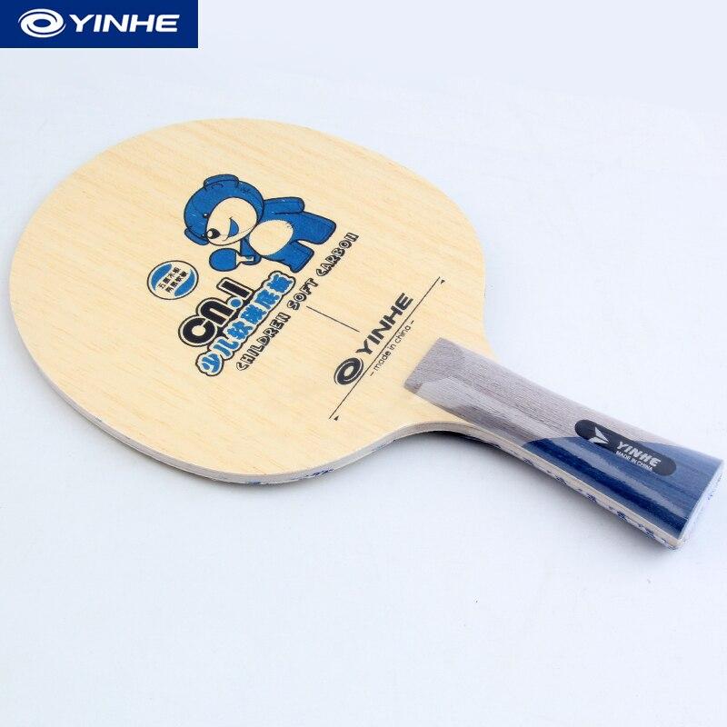 Yinhe CN1 / Galaxy / Milky Way CN.1 (CN 1, CN1, CN-1) Carbon Children Table Tennis Blade For PingPong Racket