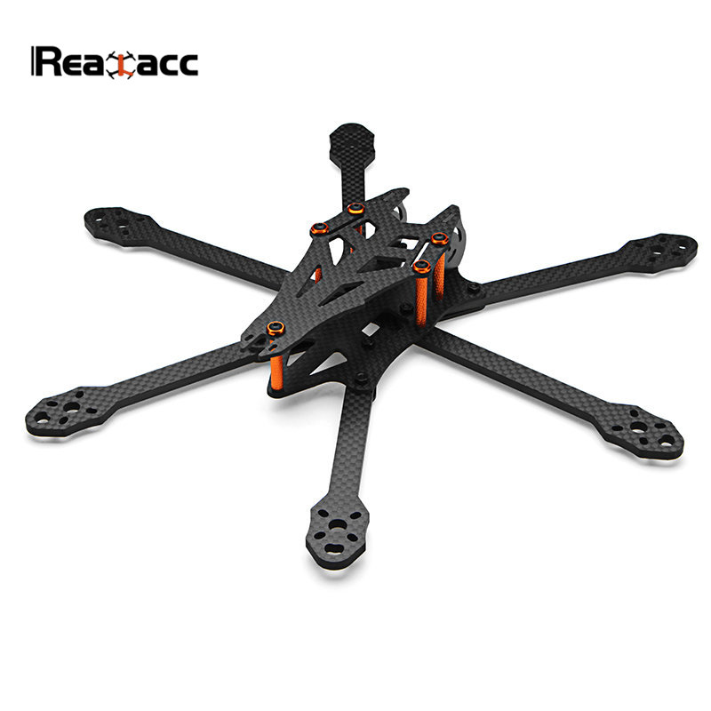 Realacc Sphinx 275mm Wheelbase 6-Axis 4mm Arm Carbon Fiber Frame Kit for RC Models Multicopter Drone Spare Part DIY Accessories original realacc orange85 1106 6000kv 1s 3s brushless motor for rc quadcopter frame kit engine rc models black