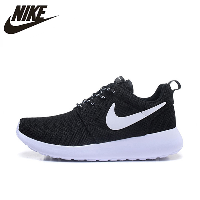 b333cf3552cf Nike Roshe Run Men Air Mesh Breathable Running Shoes