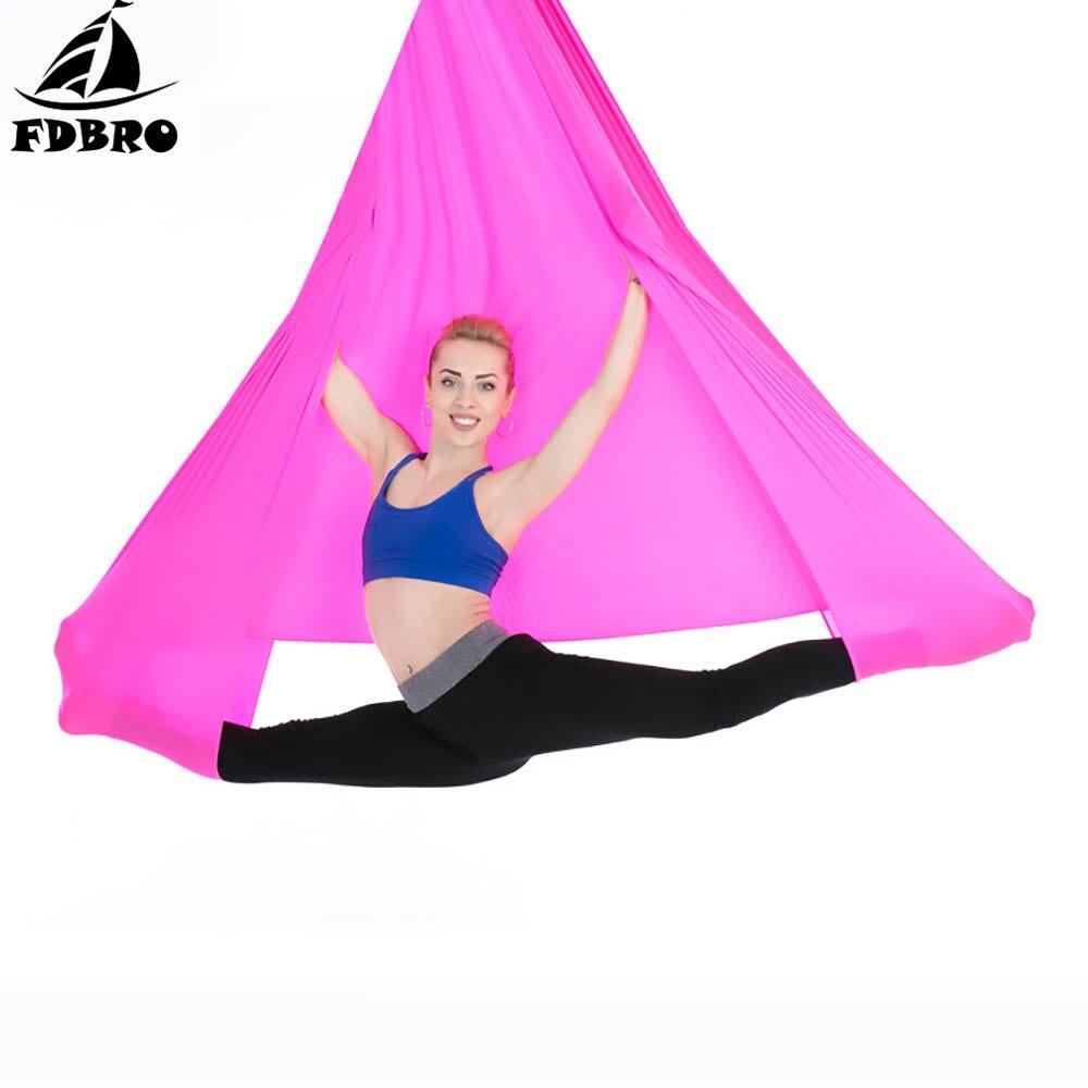 ✔  FDBRO Гамак-инверторный подвесной ремень для йоги с удлинительным поясом 1 м. 4   2 8 м. Фитнес-стре ✔