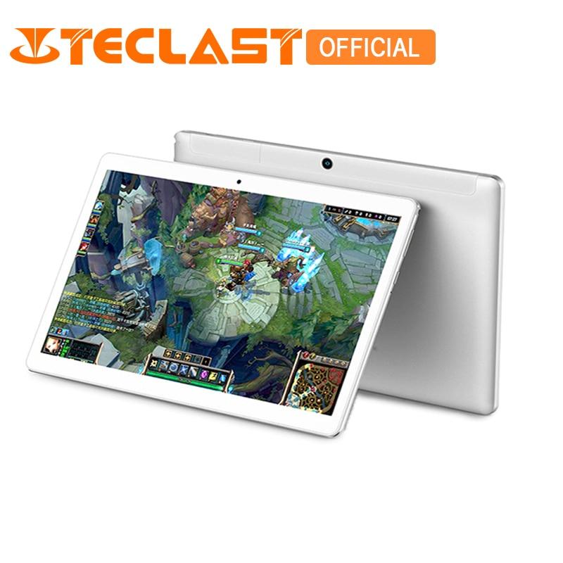 Teclast X10 Quad Core 3G phone T6580 Android 6.0 IPS  1280×800 Экран 1GB RAM 16GB ROM 10,1-дюймовый OTG FM GPS  планшетный ПК