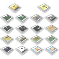 лучшая цена Video Game Cartridges DS 3DS Console Game Card Animal Crossing Dragon Ball LEGOoo Moshi Monsters Valkyrie Profile Series EU/US