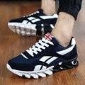 Homens Tenis masculino Sapatos Casuais Formadores Dos Homens Apartamentos Respirável Sapatos de Caminhada Sapatos Zapatillas Hombre Moda