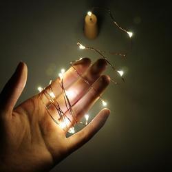 2 M LED Girlande Kupfer Draht Corker String Fairy Lichter für Glas Handwerk Flasche Weihnachten/Valentines Hochzeit Dekoration