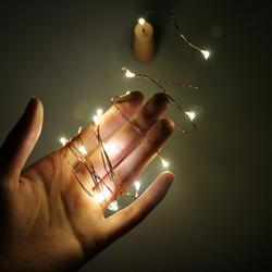 2M LED Garland Copper Wire Corker String Fairy Night Lights Glass Craft Bottle Christmas/Valentines Wedding Decoration