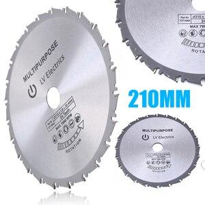 Image 1 - 24t 210ミリメートル丸鋸刃木材プラスチック金属鋸刃のためレイジRage4 rageb 25.4ミリメートルボア進化