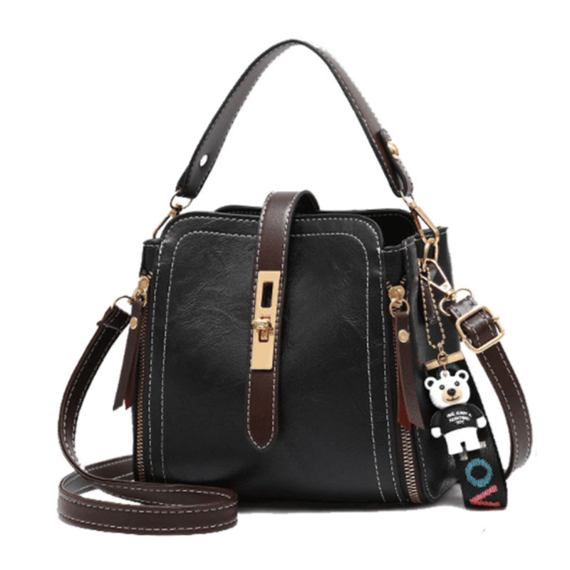 BLAGB 2019 Women HandBag ladies hand bags Brand Crossbody Bags Soft Leather Casual Flaps Shoulder For Woman Bolso Mujer