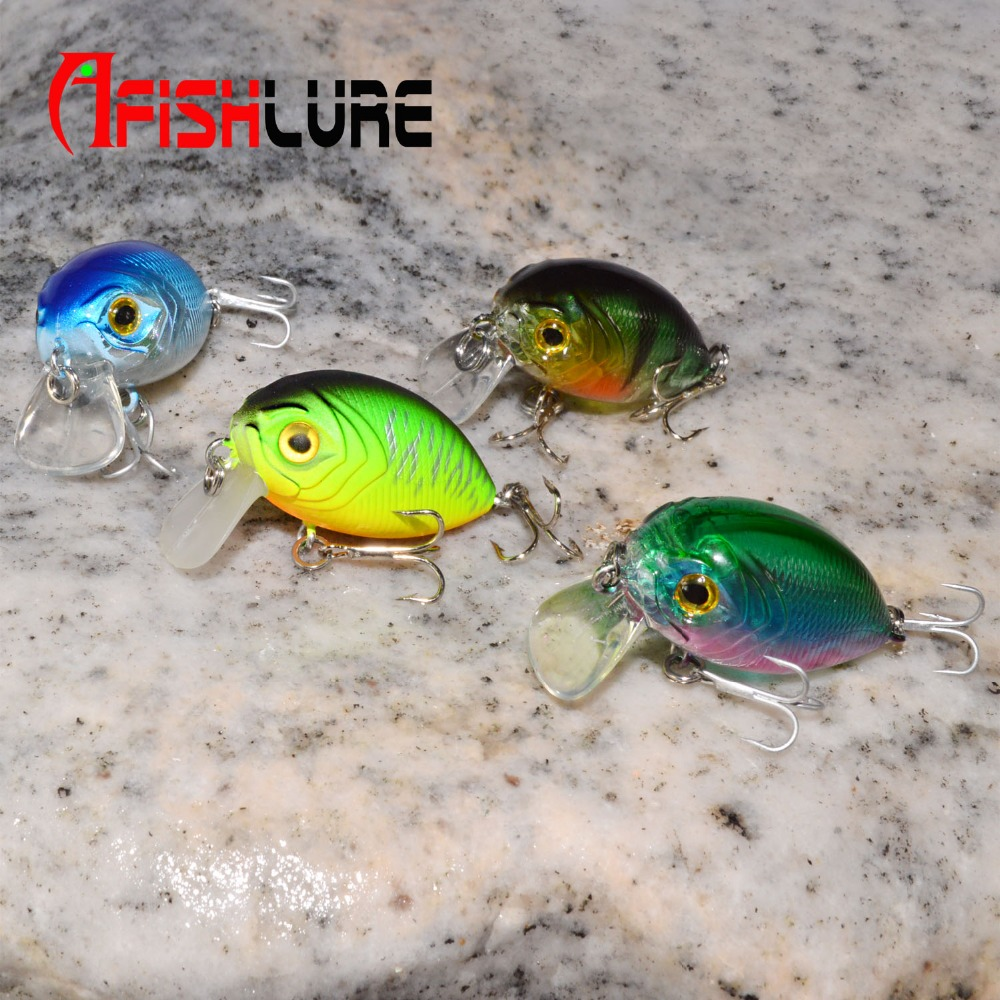 Minicrank 36mm 3.5g Crank Bait Hard Plastic Artificial Fishing Lure Fake carp Pesca fishing Wobbler Leurre Peche Pesca Isca sealurer fishing lure minnow hard bait pesca floating wobbler 8cm 7 5g isca carp crankbait jerkbait 5colors 1pcs lot