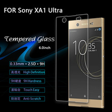 For Sony Xperia XA1 Ultra Tempered Glass 9H High Quality Protective Fi