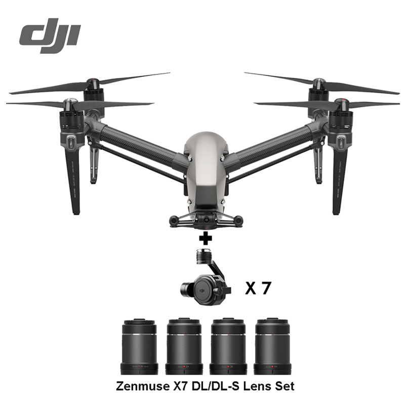 DJI Inspire 2 drone RC Quadcopter with ZENMUSE X5S ZENMUSE X4S 5 2k or 4k camera