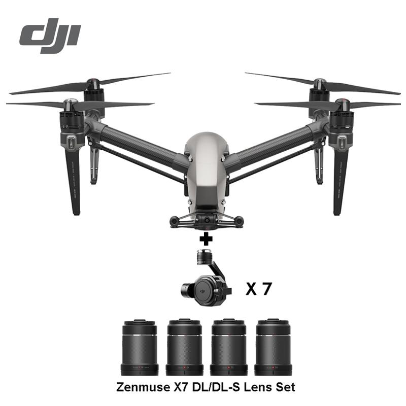 DJI Inspire 2 drone RC Quadcopter with ZENMUSE X5S ZENMUSE X4S 5.2k or 4k camera 100% original DJI Drone In Stock!!!