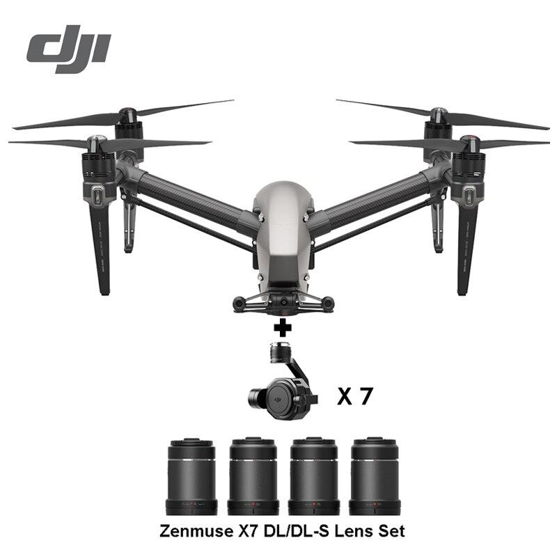 DJI Inspire 2 drone RC quadrirotor avec ZENMUSE X5S ZENMUSE X4S 5.2k ou 4k caméra 100% Drone DJI original en Stock!!!-in Drones à caméra from Electronique    1