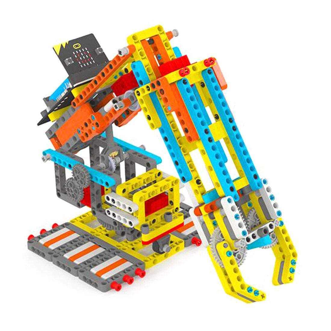 마이크로 용 높은 장난감 게임 추천: 비트 프로그래밍 가능한 빌딩 블록 diy 스마트 로봇 암 키트-에서프로그래밍 장난감부터 완구 & 취미 의  그룹 1