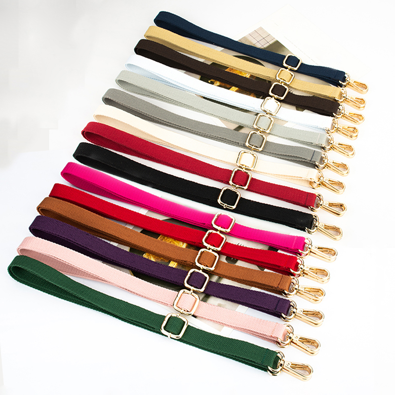 20 Colors! DIY 140cm Adjustable Shoulder Bag Straps 2cm Width Replacement Cotton Bag Belts, Handles for Small Handbags, Purses20 Colors! DIY 140cm Adjustable Shoulder Bag Straps 2cm Width Replacement Cotton Bag Belts, Handles for Small Handbags, Purses