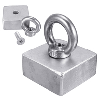 1pc Super Strong Round NdFeB N52 Neodymium Rare Earth Magnet Block 50x50x25mm For Sticking Notes