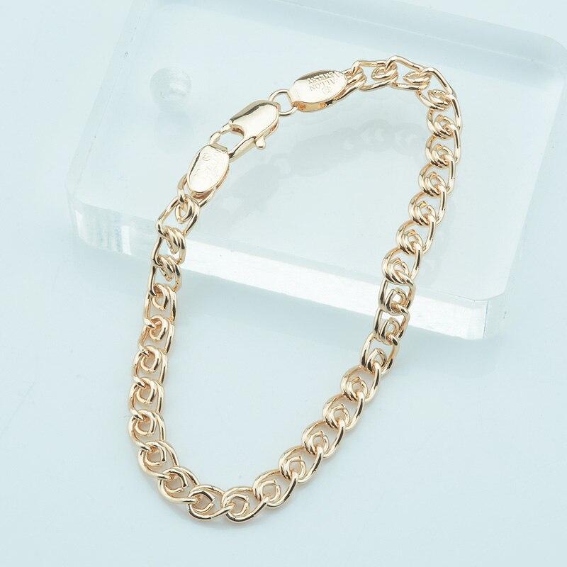 золотые браслеты женские цены 585 фото