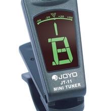 JOYO клип ЖК-подсветка двойной бас мини портативный клип на цифровой электрогитары укулеле педаль авто Колки для гитары аксессуары