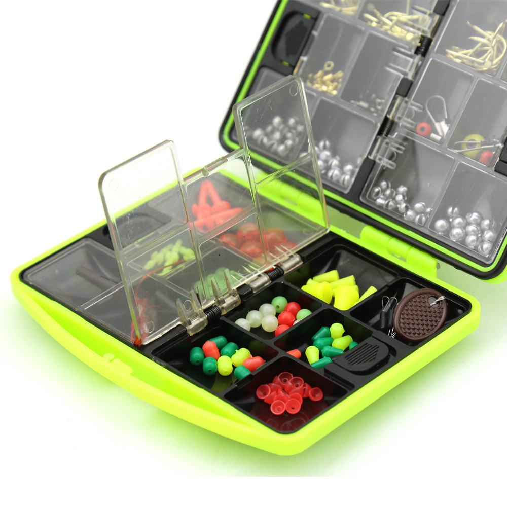 Fishing plastic box 12cm 9cm lure box for carp fish for Ice fishing tackle box
