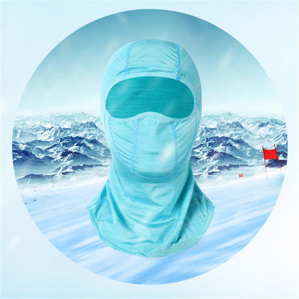2019 Men and women ice silk sunscreen hood breathable hood outdoor sports bike running mask summer face shield quick dry 40M20 (11)