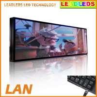 P5 SMD Full Color Video LED Sign Scrolling Message Animated Text Vivid Display Board