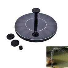 Energie 7 V Schwimmwasserpumpe Solarpanel Garten Pflanzen Bewässerung Power Brunnen Pool