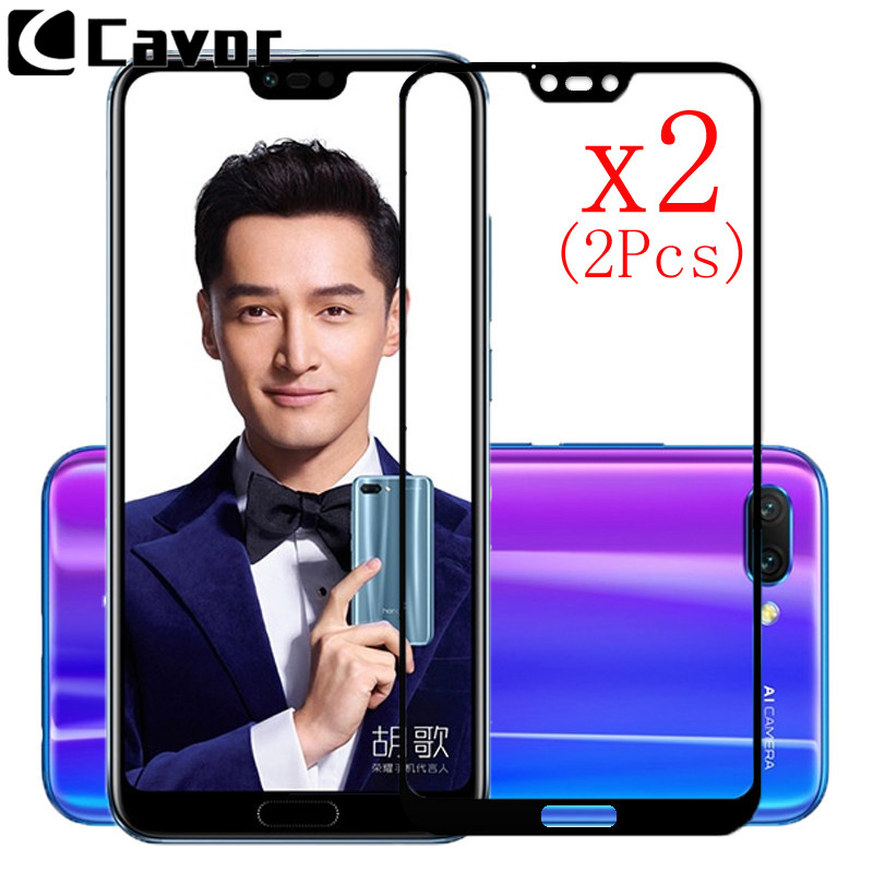 Glass Mobile-Accessories Max-Case Huawei Honor Honor8x-Max Full-Cover For 10-8c/8x Screen-Protector-Film