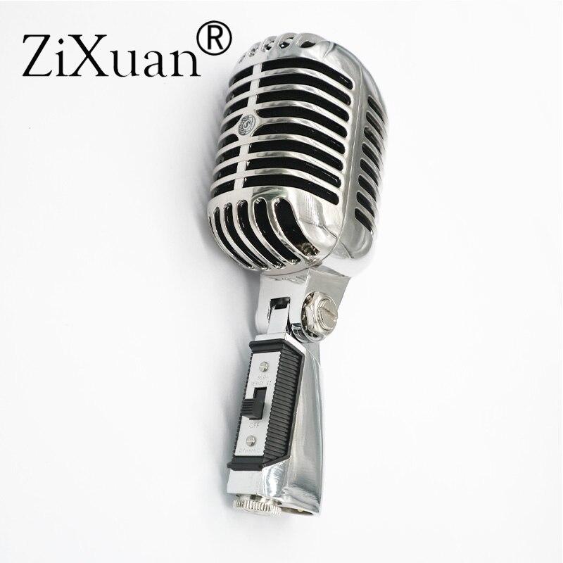 デラックス金属 55SH Ii プロフェッショナルダイナミックマイクボーカルクラシックヴィンテージスタイル Microfone 55 SH シリーズ II マイク  グループ上の 家電製品 からの マイクロフォン の中 1