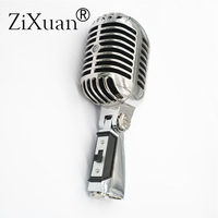 Deluxe Metal 55SH II Professional Dynamic Microphone Vocal Classical Vintage Style Microfone 55 SH Series II Mic