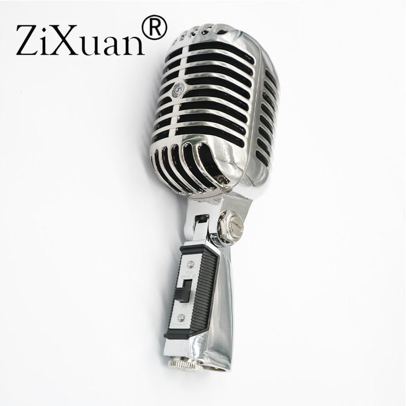 Micro Vocal dynamique professionnel de luxe en métal 55SH II micro classique de Style Vintage micro 55 SH série II