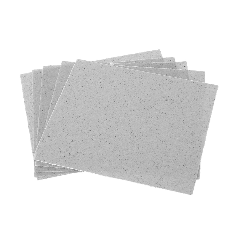 5Pcs Set 12x12cm 4 7x4 7inch Microwave Oven Mica Plates Repairing Part heat Resistance in Microwave Oven Parts from Home Appliances