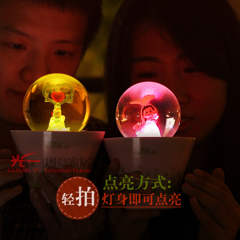 SanDisk Home Unique Birthday Gift To Send Boys And Girls Creative Gifts Girlfriend Happy Romantic Pot Lights In Night From Lighting On