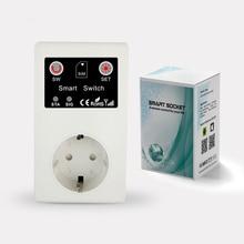 16A 250VAC Drahtlose Fernbedienung Home Appliance Automation GSM Smart Telefon Steckdose Timer Schalter Wand Stecker