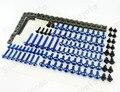 Aluminio Azul Kit de Carenado Perno Tuerca Tornillos Sujetadores de Cuerpo de La Motocicleta de Sportbike