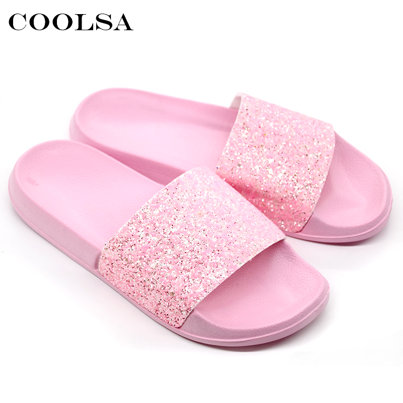7020cedeac385 Detail Feedback Questions about COOLSA New Summer Women s Slippers ...