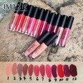 IMAGIC makeup matte Lipgloss waterproof lasting Lip gloss cosmetics Liquid matte lip makeup 12pcs