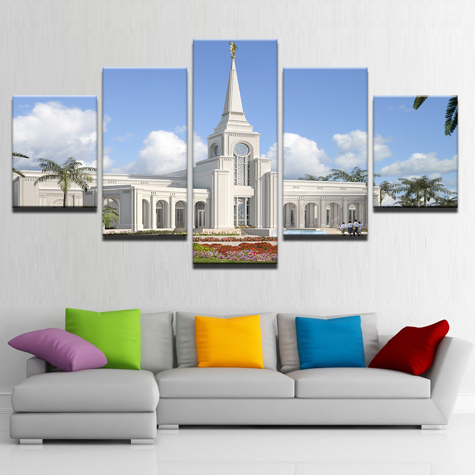HD Prints Canvas Poster Framework Living Room Home Decor 5 Piece ...