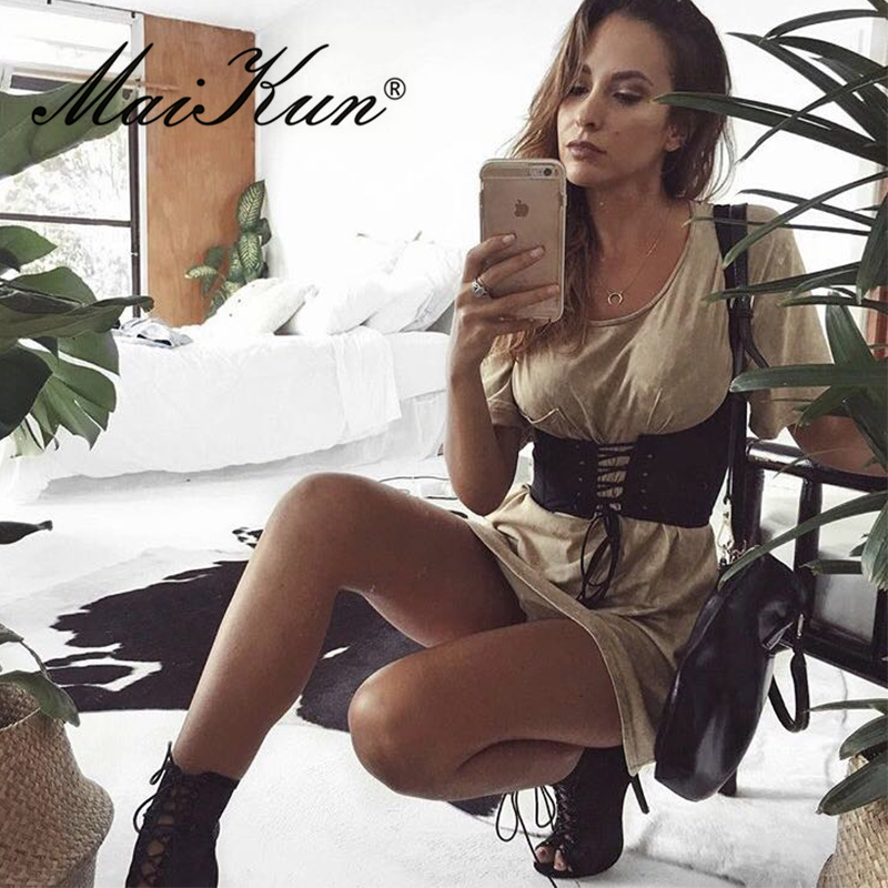 Sexy Lace Up   Belts   for Women Luxury Designer Brand Female Pectoral for Dress Skirt Elastic Tank Shoulders Corsets Waist Strap