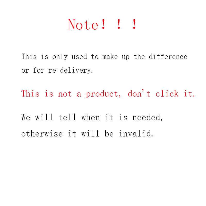Имейте в виду, что используется только для того, чтобы компенсация или может быть использован для доставки, это не является продуктом, не по нему.
