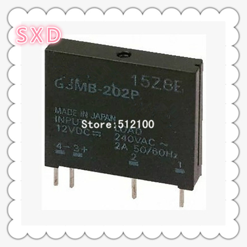 50pcs G3MB 202P 5V  12V  24V   DC AC PCB  In 12VDC,Out 240V AC 2A Solid State Relay-in Integrated Circuits from Electronic Components & Supplies    1