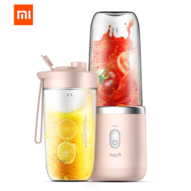 xiaomi Mijia deerma Juicer wireless home automatic fruit and vegetable multi-function mini student juice electric juice machine