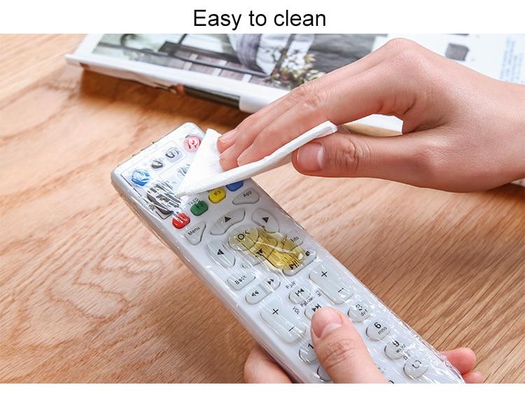10X Heat Shrink Film TV Video Remote Control Protector Cover ci