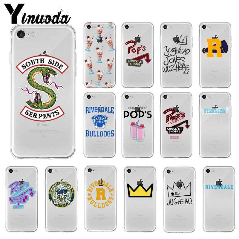 Yinuoda Riverdale TV South Side Serpents Unique Design Phone Cover for Apple iPhone 8 7 6 6S Plus X XS MAX 5 5S SE XR Cellphones