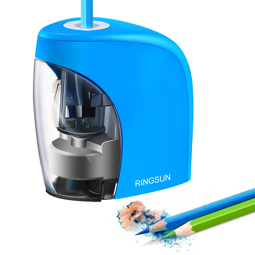 Stationery Pencil-Sharpener Electric Colored For NO.2 8mm And Powered And